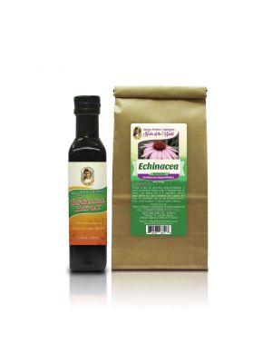 1-Echinacea 250 Tonic, and 1- Echinacea Tea 4oz