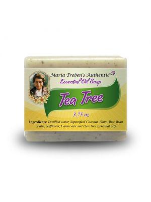 Tea Tree 3.75oz Bar Essential Oil Soap - Maria Treben's Authentic™