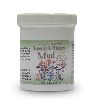 Maria Treben's Authentic™ Swedish Bitters Mud (8oz/227ml) jar