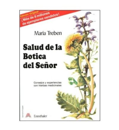 Health Through God`s Pharmacy (Spanish Edition) 88 pages by Maria Treben