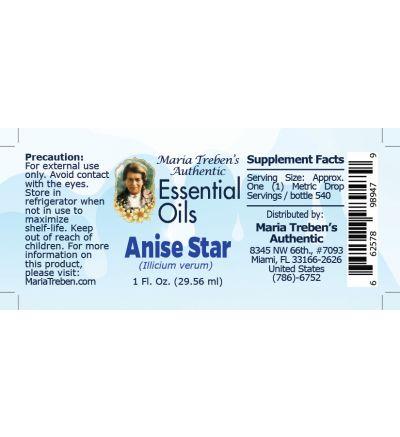 Anise Star (Illicium verum) - 30 ml.