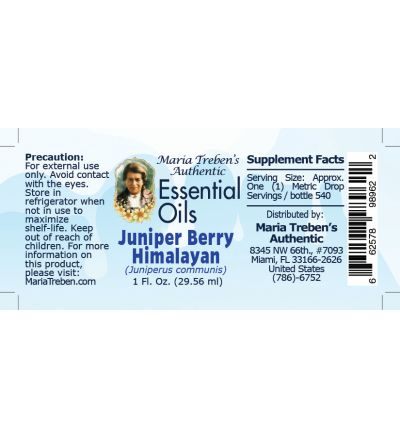 Juniper Berry Himalayan (Juniperus communis) - 30 ml.