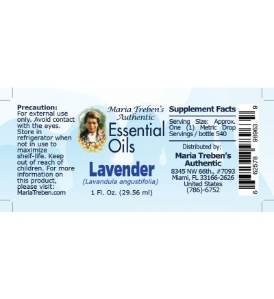 Lavender (Lavandula angustifolia) - 30 ml.