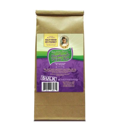 Shepherd's Purse (Capsella bursa-pastoris) 1lb/454g BULK Herbal Tea - Maria Treben's Authentic™ Featured Herb