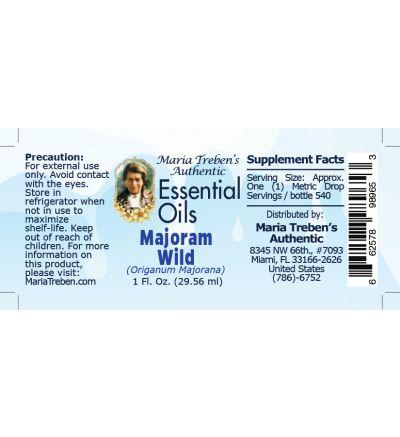 Majoram Wild (Origanum majorana) - 30 ml.
