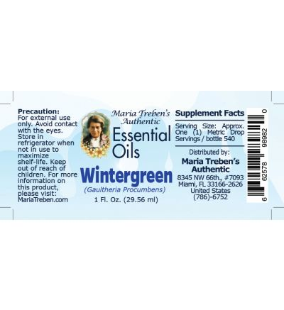 Wintergreen (Gaultheria Procumbens) - 30 ml.