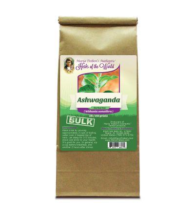 Ashwaganda Root (Withania somnifera) 1lb/454g BULK Herbal Tea - Maria Treben's Authentic™ Herbs of the World
