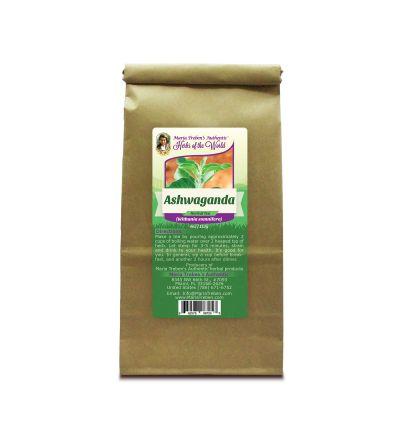 Ashwaganda Root (Withania somnifera) 4oz/113g Herbal Tea - Maria Treben's Authentic™ Herbs of the World