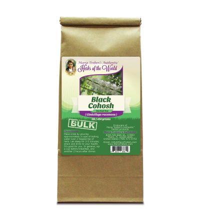 Black Cohosh Root (Cimicifuga racemosa) 1lb/454g BULK Herbal Tea - Maria Treben's Authentic™ Herbs of the World