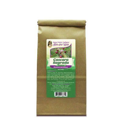 Cascara Sagrada Bark (Rhamnus purshiana) 4oz/113g Herbal Tea - Maria Treben's Authentic™ Herbs of the World
