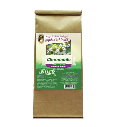 Chamomile Flower (Anthemis nobilis) 1lb/454g BULK Herbal Tea - Maria Treben's Authentic™ Herbs of the World