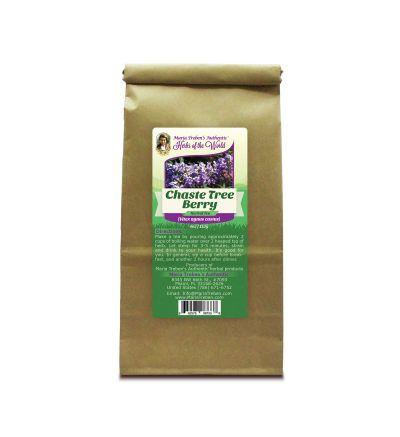 Chaste Tree Berry (Vitex agnus castus) 4oz/113g Herbal Tea - Maria Treben's Authentic™ Herbs of the World