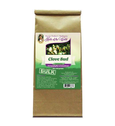 Clove Bud (Eugenia caryophyllata) 1lb/454g BULK Herbal Tea - Maria Treben's Authentic™ Herbs of the World