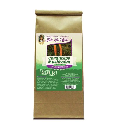 Cordyceps Mushroom (Cordyceps Sinensis ~ Cordyceps Gracilis) 1lb/454g BULK Herbal Tea - Maria Treben's Authentic™ Herbs of the World