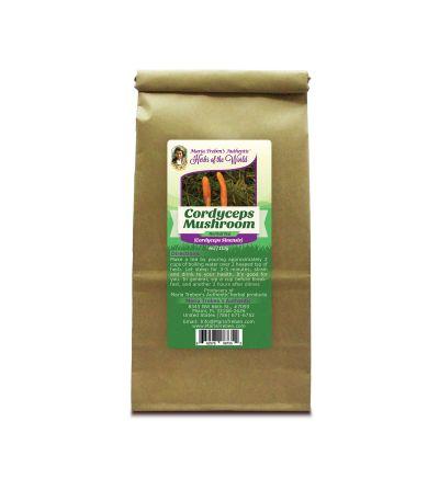 Cordyceps Mushroom (Cordyceps Sinensis ~ Cordyceps Gracilis) 4oz/113g Herbal Tea - Maria Treben's Authentic™ Herbs of the World