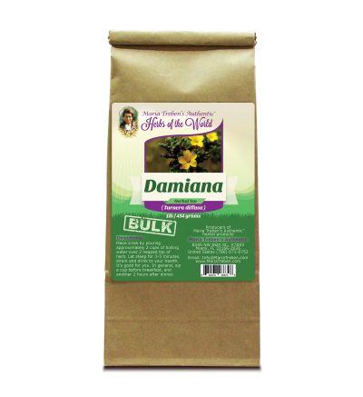 Damiana Herb (Turnera diffusa) 1lb/454g BULK Herbal Tea - Maria Treben's Authentic™ Herbs of the World
