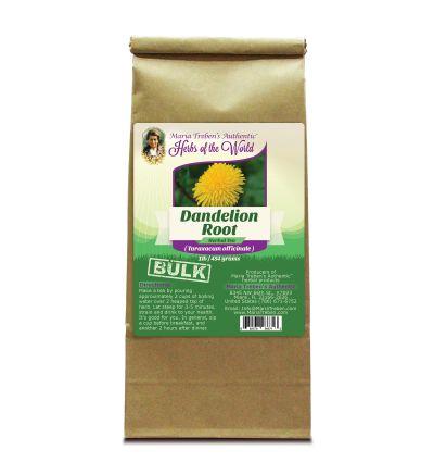 Dandelion Root (Taraxacum officinale) 1lb/454g BULK Herbal Tea - Maria Treben's Authentic™ Herbs of the World