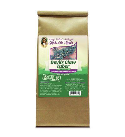 Devil's Claw Tuber (Harpagophytum procumbens) 1lb/454g BULK Herbal Tea - Maria Treben's Authentic™ Herbs of the World