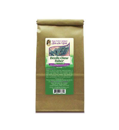 Devil's Claw Tuber (Harpagophytum procumbens) 4oz/113g Herbal Tea - Maria Treben's Authentic™ Herbs of the World