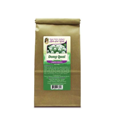 Dong Quai Root (Angelica sinensis) 4oz/113g Herbal Tea - Maria Treben's Authentic™ Herbs of the World