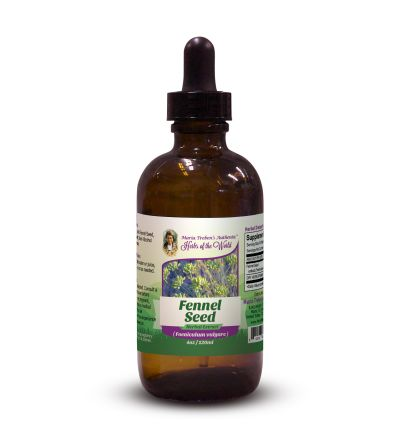 Fennel Seed (Foeniculum vulgare) 4oz/118ml Herbal Extract / Tincture - Maria Treben's Authentic™ Herbs of the World