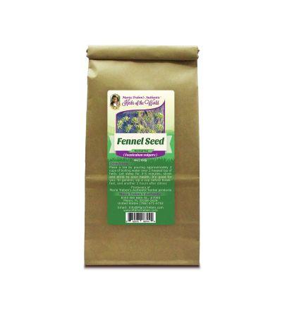 Fennel Seed (Foeniculum vulgare) 4oz/113g Herbal Tea - Maria Treben's Authentic™ Herbs of the World