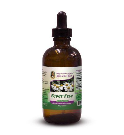 Feverfew Leaf (Tanacetum Parthenium) 4oz/118ml Herbal Extract / Tincture - Maria Treben's Authentic™ Herbs of the World