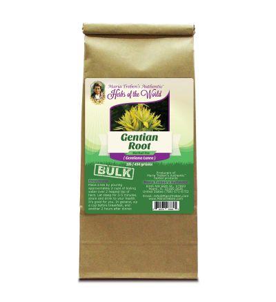 Gentian Root (Gentiana Lutea) 1lb/454g BULK Herbal Tea - Maria Treben's Authentic™ Herbs of the World