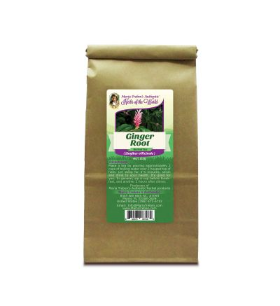 Ginger Root (Zingiber officinale) 4oz/113g Herbal Tea - Maria Treben's Authentic™ Herbs of the World