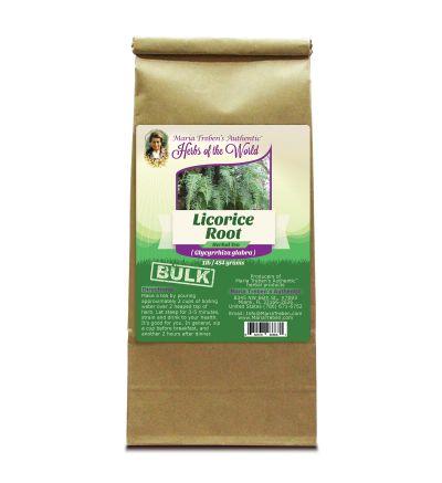 Licorice Root (Glycyrrhiza glabra) 1lb/454g BULK Herbal Tea - Maria Treben's Authentic™ Herbs of the World