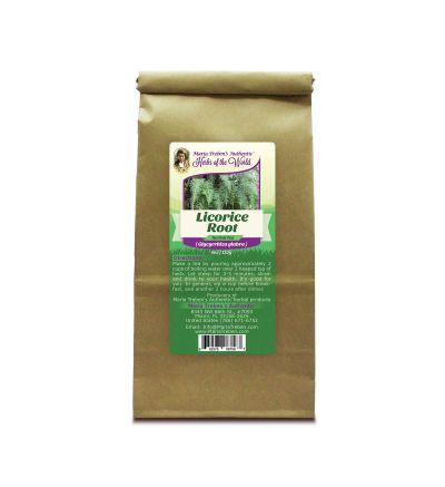 Licorice Root (Glycyrrhiza glabra) 4oz/113g Herbal Tea - Maria Treben's Authentic™ Herbs of the World