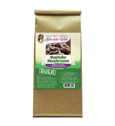 Maitake Mushroom (Grifola frondosa) 1lb/454g BULK Herbal Tea - Maria Treben's Authentic™ Herbs of the World