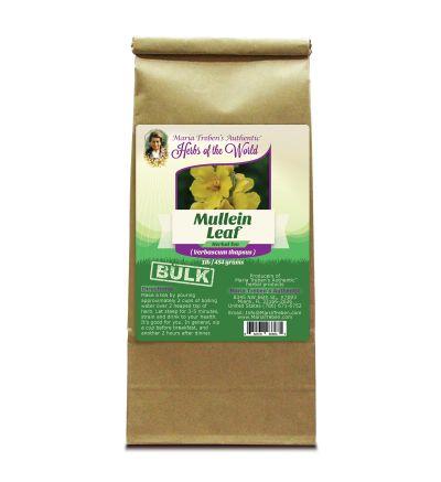 Mullein Leaf (Verbascum Thapsus) 1lb/454g BULK Herbal Tea - Maria Treben's Authentic™ Herbs of the World