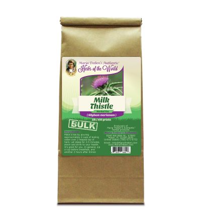 Milk Thistle (Silybum marianum) 1lb/454g BULK Herbal Tea - Maria Treben's Authentic™ Herbs of the World