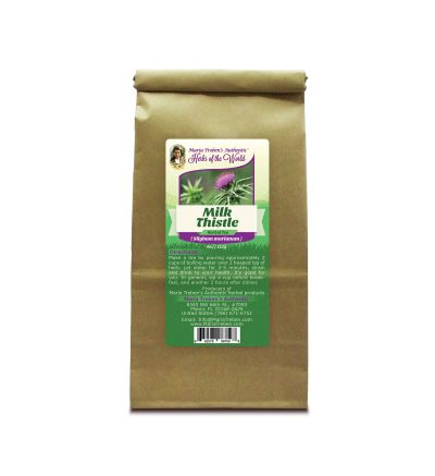 Milk Thistle (Silybum marianum) 4oz/113g Herbal Tea - Maria Treben's Authentic™ Herbs of the World