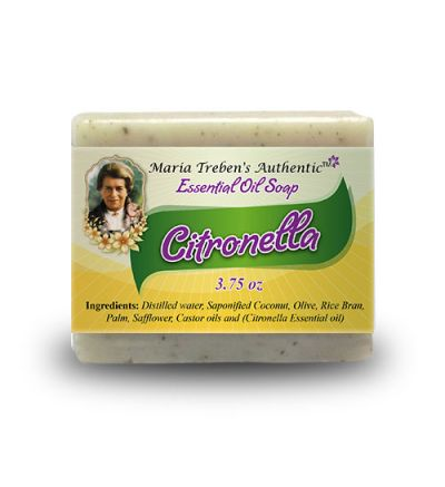 Citronella 3.75oz Bar Essential Oil Soap - Maria Treben's Authentic™