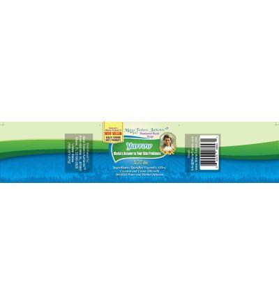 Yarrow (Achillea millefolium) 3.75oz Bar Handcrafted Herbal Soap - Maria Treben's Authentic™ Featured Herb