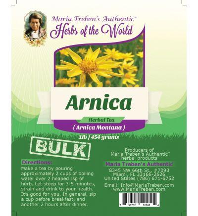 Arnica Flower (Arnica Montana) 1 lb/454 g BULK Herbal Tea - Maria Treben's Authentic™ Herbs of the World
