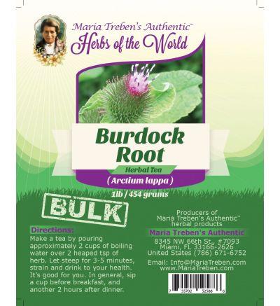 Burdock Root (Cimicifuga racemosa) 1lb/454g BULK Herbal Tea - Maria Treben's Authentic™ Herbs of the World