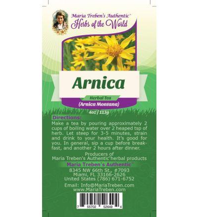 Arnica Flower (Arnica Montana) 4oz/113g Herbal Tea - Maria Treben's Authentic™ Herbs of the World