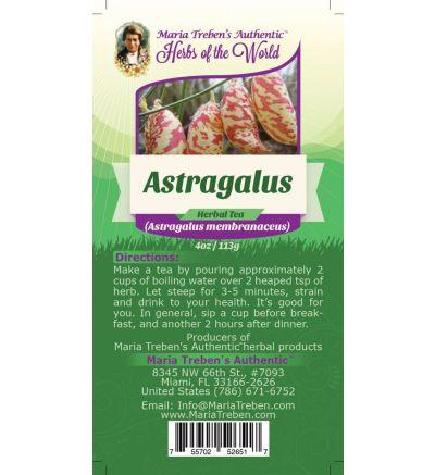 Astragalus Root (Astragalus membranaceus) 4oz/113g Herbal Tea - Maria Treben's Authentic™ Herbs of the World