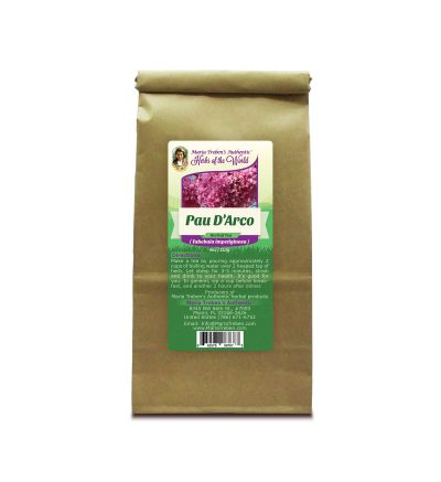 Pau D'Arco (Tabebuia impetiginosa) 4oz/113g Herbal Tea - Maria Treben's Authentic™ Herbs of the World
