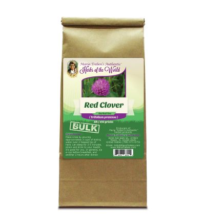 Red Clover Blossoms (Trifolium pratense) 1lb/454g BULK Herbal Tea - Maria Treben's Authentic™ Herbs of the World