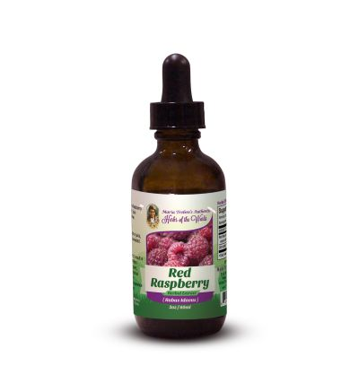 Red Raspberry (Rubus Idaeus) 2oz/59ml Herbal Extract / Tincture - Maria Treben's Authentic™ Herbs of the World