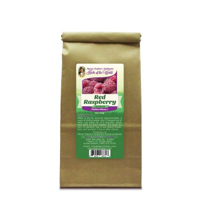 Red Raspberry (Rubus Idaeus) 4oz/113g Herbal Tea - Maria Treben's Authentic™ Herbs of the World
