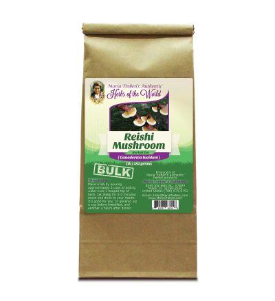 Reishi Mushroom (Ganoderma lucidum) 1lb/454g BULK Herbal Tea - Maria Treben's Authentic™ Herbs of the World