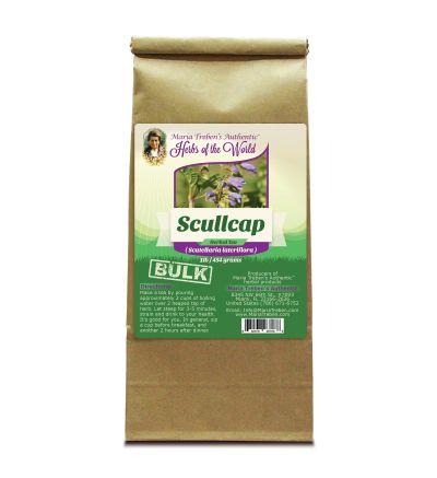 Scullcap (Scutellaria Lateriflora) 1lb/454g BULK Herbal Tea - Maria Treben's Authentic™ Herbs of the World