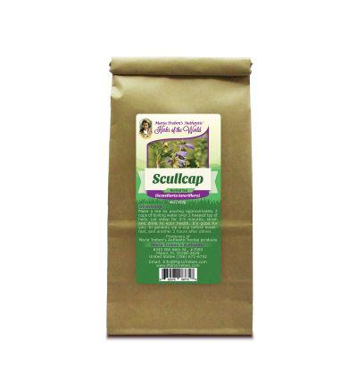 Scullcap (Scutellaria Lateriflora) 4oz/113g Herbal Tea - Maria Treben's Authentic™ Herbs of the World