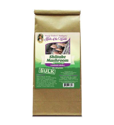 Shiitake Mushroom (Lentinus edodes) 1lb/454g BULK Herbal Tea - Maria Treben's Authentic™ Herbs of the World