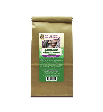 Shiitake Mushroom (Lentinus edodes) 4oz/113g Herbal Tea - Maria Treben's Authentic™ Herbs of the World